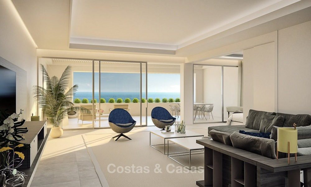 Luxurious Modern Apartments for sale, Seafront Location in Estepona 1259