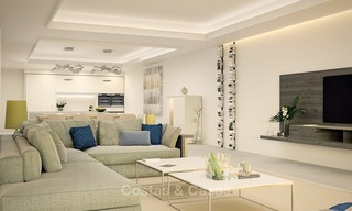 Luxurious Modern Apartments for sale, Seafront Location in Estepona 1263