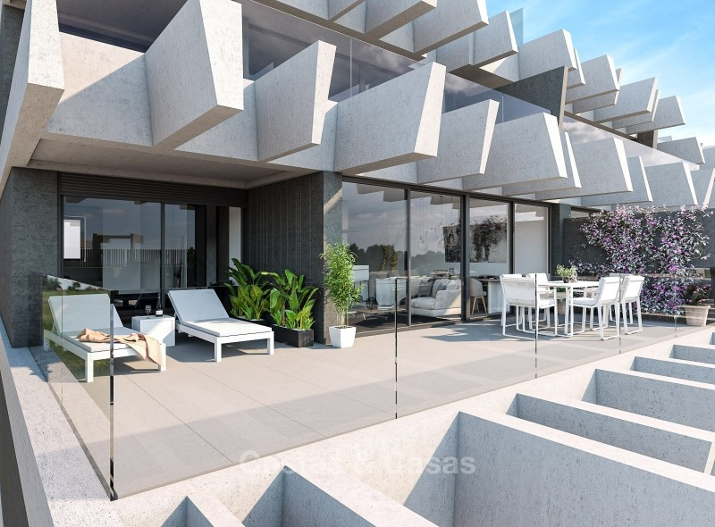 New Development, Contemporary Style, Sea View Apartments for Sale, Marbella - Estepona 10963