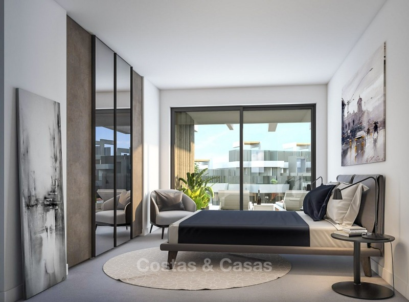 New Development, Contemporary Style, Sea View Apartments for Sale, Marbella - Estepona 10965