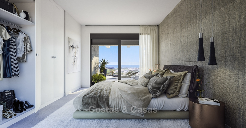 New Development, Contemporary Style, Sea View Apartments for Sale, Marbella - Estepona 10969