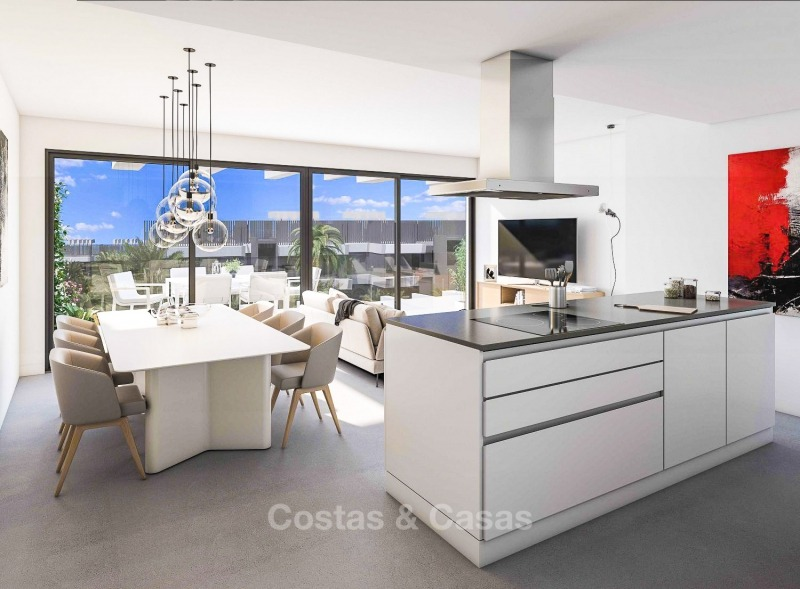 New Development, Contemporary Style, Sea View Apartments for Sale, Marbella - Estepona 10977