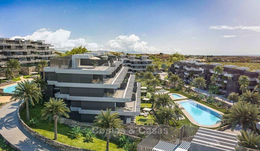 New Development, Contemporary Style, Sea View Apartments for Sale, Marbella - Estepona 10961