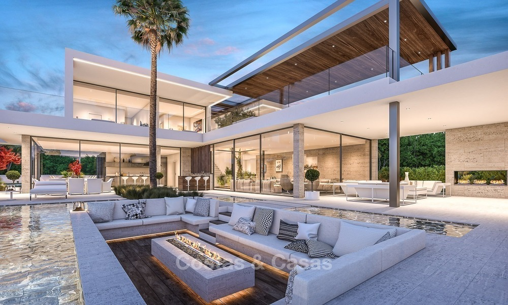 Magnificent, Modern Style Sea View Villa for Sale in Nagüeles on The Golden Mile, Marbella 1277