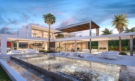 Magnificent, Modern Style Sea View Villa for Sale in Nagüeles on The Golden Mile, Marbella 1278