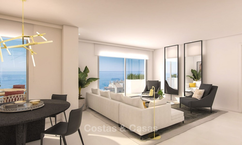 Modern, Sea View Apartments for Sale, close to the Beach in Benalmádena, Costa del Sol 1287