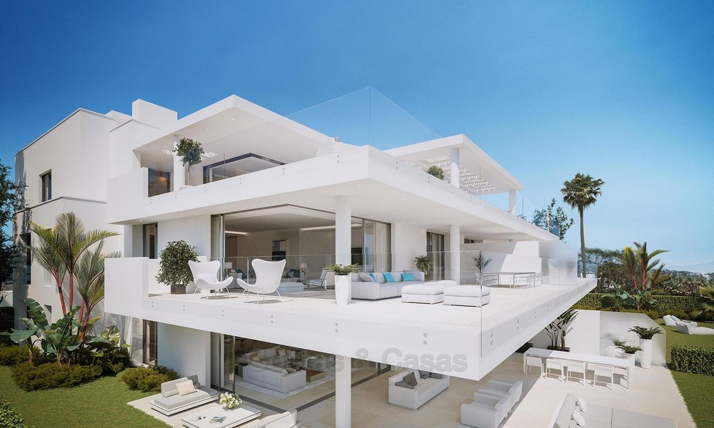 Exclusive New, Modern Beachfront Apartments for sale, New Golden Mile, Marbella - Estepona 12300