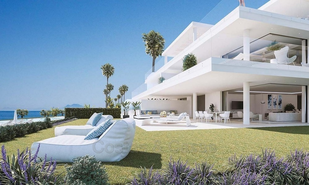 Exclusive New, Modern Beachfront Apartments for sale, New Golden Mile, Marbella - Estepona 1292