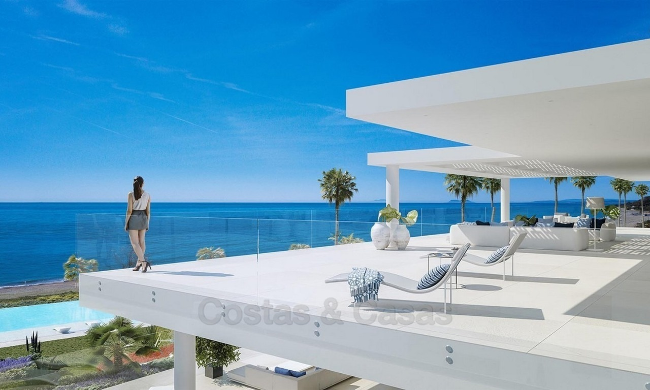 Exclusive New, Modern Beachfront Apartments for sale, New Golden Mile, Marbella - Estepona 1293