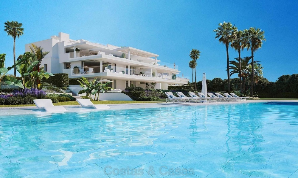 Exclusive New, Modern Beachfront Apartments for sale, New Golden Mile, Marbella - Estepona 1295