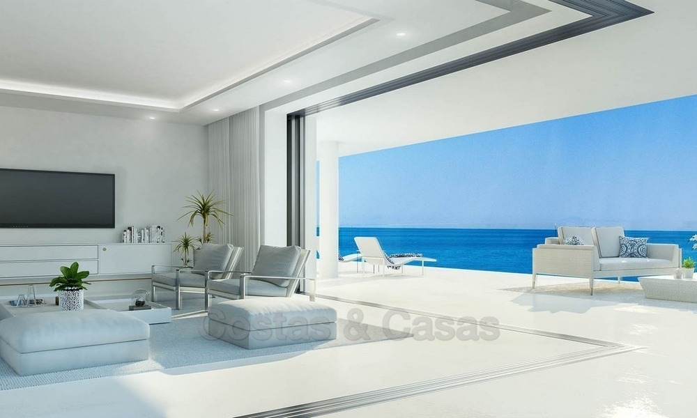 Exclusive New, Modern Beachfront Apartments for sale, New Golden Mile, Marbella - Estepona 1298