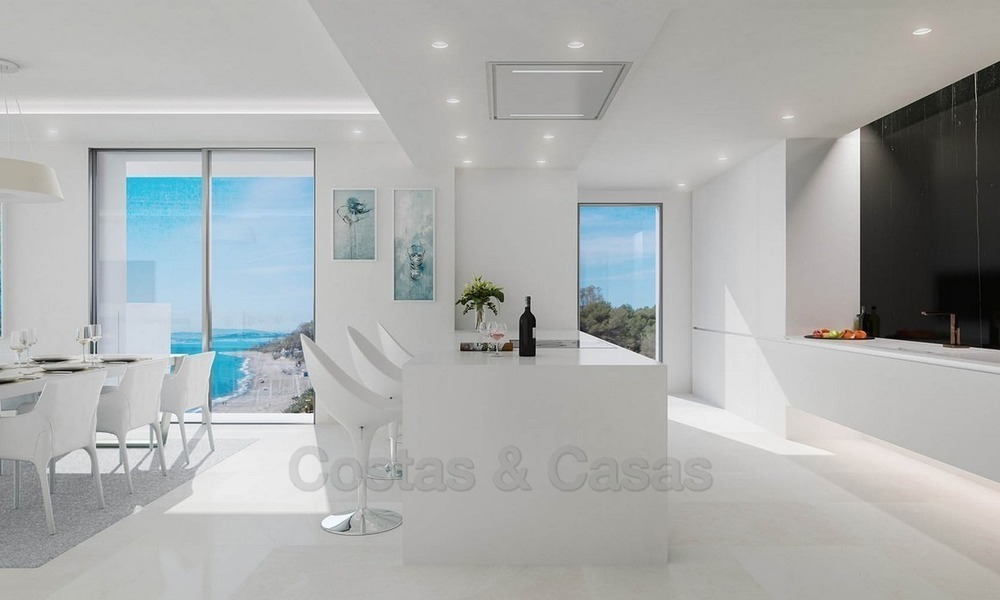 Exclusive New, Modern Beachfront Apartments for sale, New Golden Mile, Marbella - Estepona 1300