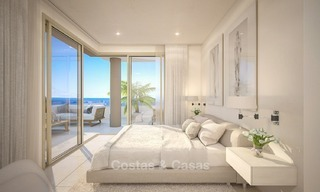 New Beachfront Development of Modern Apartments for sale in Mijas Costa. Completed! Last units! Ready to move in. 1311