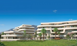 New Beachfront Development of Modern Apartments for sale in Mijas Costa. Completed! Last units! Ready to move in. 1315