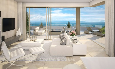 New Beachfront Development of Modern Apartments for sale in Mijas Costa 1318
