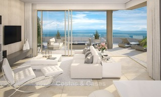 New Beachfront Development of Modern Apartments for sale in Mijas Costa. Completed! Last units! Ready to move in. 1318