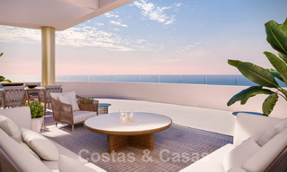 New Beachfront Development of Modern Apartments for sale in Mijas Costa. Completed! Last units! Ready to move in. 28137