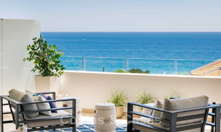 New Beachfront Development of Modern Apartments for sale in Mijas Costa. Completed! Last units! Ready to move in. 28140