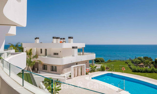 New Beachfront Development of Modern Apartments for sale in Mijas Costa. Completed! Last units! Ready to move in. 28142