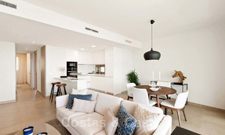New Beachfront Development of Modern Apartments for sale in Mijas Costa. Completed! Last units! Ready to move in. 28155