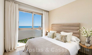 New Beachfront Development of Modern Apartments for sale in Mijas Costa. Completed! Last units! Ready to move in. 28157