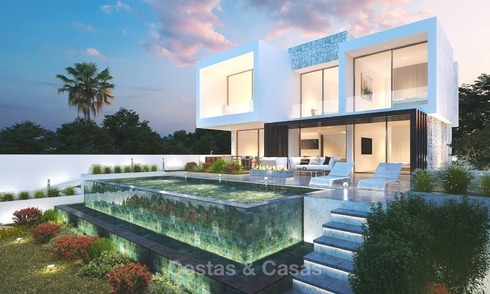 New Construction, Development of Contemporary Villas with Sea Views for Sale, Mijas, Costa del Sol 1309