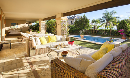Priced to Sell! Luxurious Ground Floor Apartment with Private Pool in Aloha, Nueva Andalucia, Marbella 2961