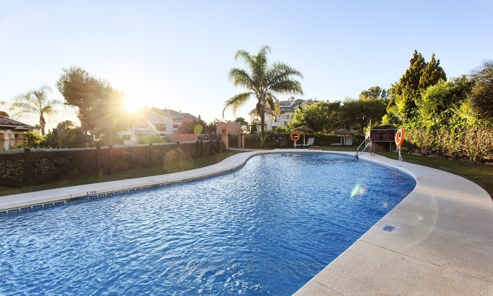 Priced to Sell! Luxurious Ground Floor Apartment with Private Pool in Aloha, Nueva Andalucia, Marbella 1369