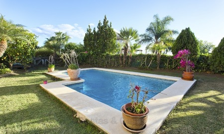 Priced to Sell! Luxurious Ground Floor Apartment with Private Pool in Aloha, Nueva Andalucia, Marbella 1381