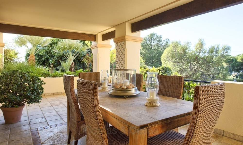 Priced to Sell! Luxurious Ground Floor Apartment with Private Pool in Aloha, Nueva Andalucia, Marbella 1387