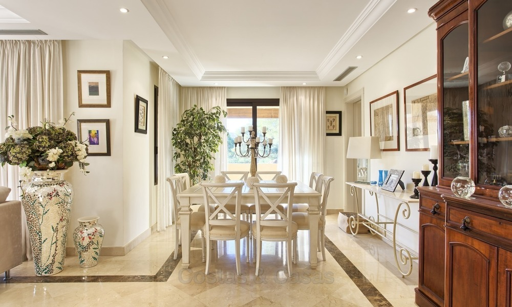 Priced to Sell! Luxurious Ground Floor Apartment with Private Pool in Aloha, Nueva Andalucia, Marbella 1390