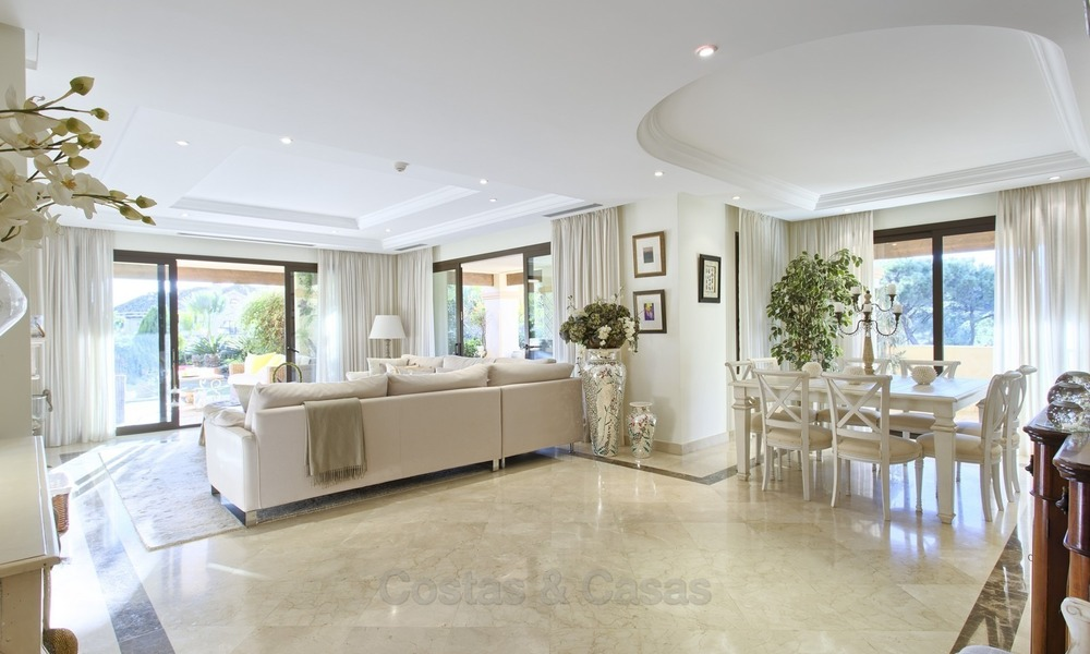 Priced to Sell! Luxurious Ground Floor Apartment with Private Pool in Aloha, Nueva Andalucia, Marbella 1395
