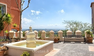 Elevated Ground Floor Apartment with Panoramic Sea views for sale in Benahavis, Marbella 1537