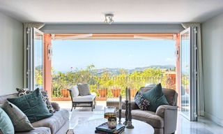 Elevated Ground Floor Apartment with Panoramic Sea views for sale in Benahavis, Marbella 1544