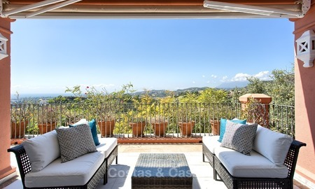 Elevated Ground Floor Apartment with Panoramic Sea views for sale in Benahavis, Marbella 1547