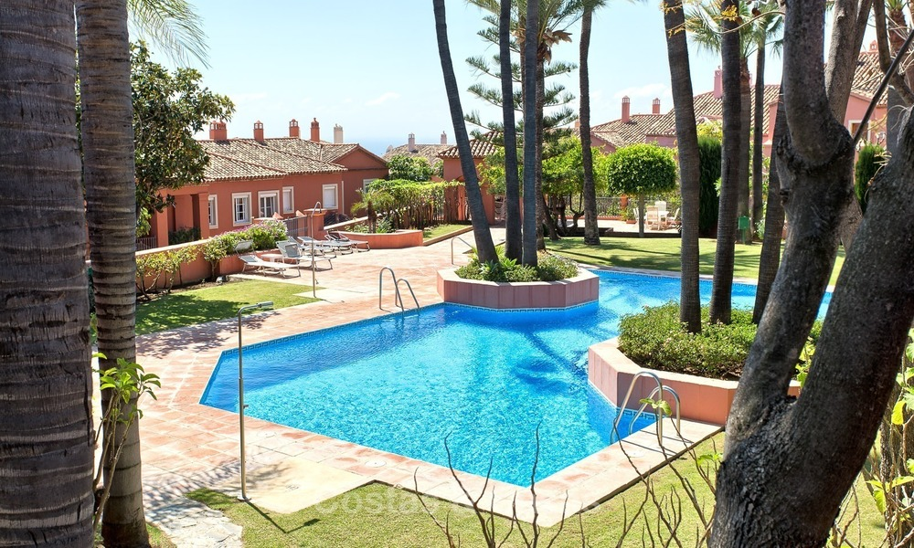 Elevated Ground Floor Apartment with Panoramic Sea views for sale in Benahavis, Marbella 1549
