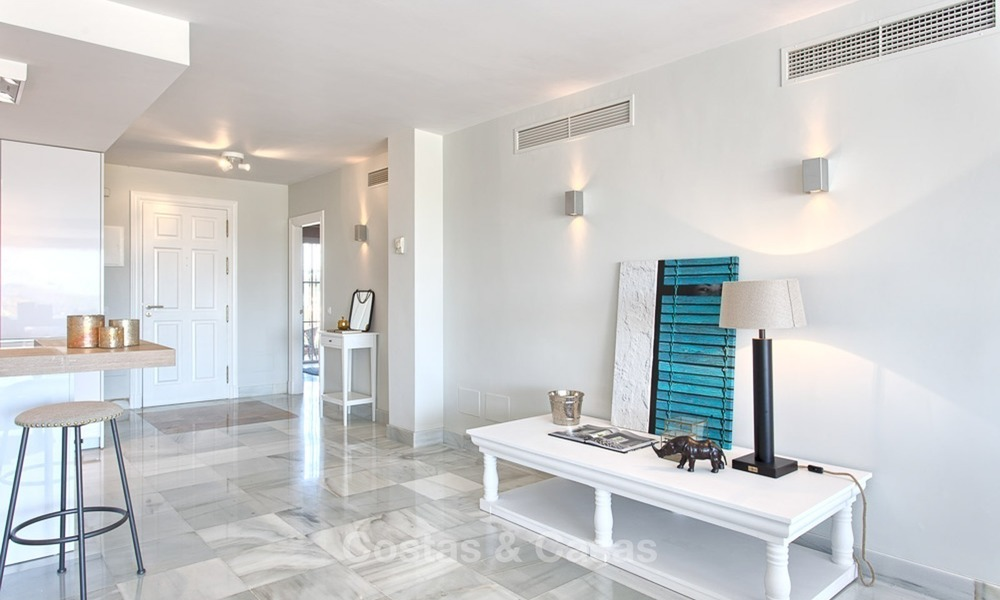 Elevated Ground Floor Apartment with Panoramic Sea views for sale in Benahavis, Marbella 1563