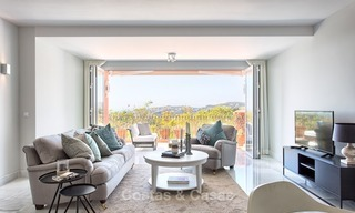 Elevated Ground Floor Apartment with Panoramic Sea views for sale in Benahavis, Marbella 1565