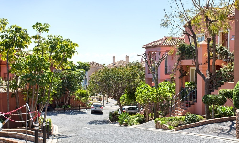 Elevated Ground Floor Apartment with Panoramic Sea views for sale in Benahavis, Marbella 1575