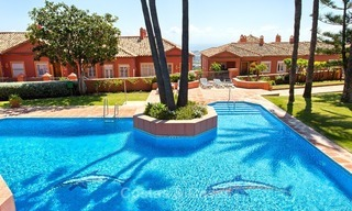 Elevated Ground Floor Apartment with Panoramic Sea views for sale in Benahavis, Marbella 1576