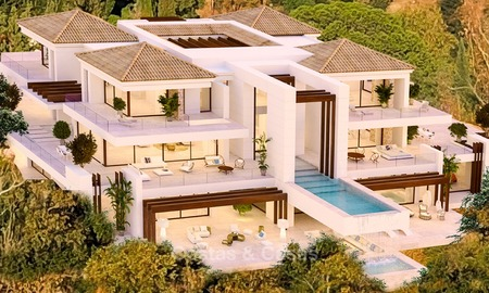Spectacular Contemporary, Andalusian Style Villa for Sale, Golf- and Sea Views, Benahavis – Marbella 1411