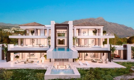 Spectacular Contemporary, Andalusian Style Villa for Sale, Golf- and Sea Views, Benahavis – Marbella 1412