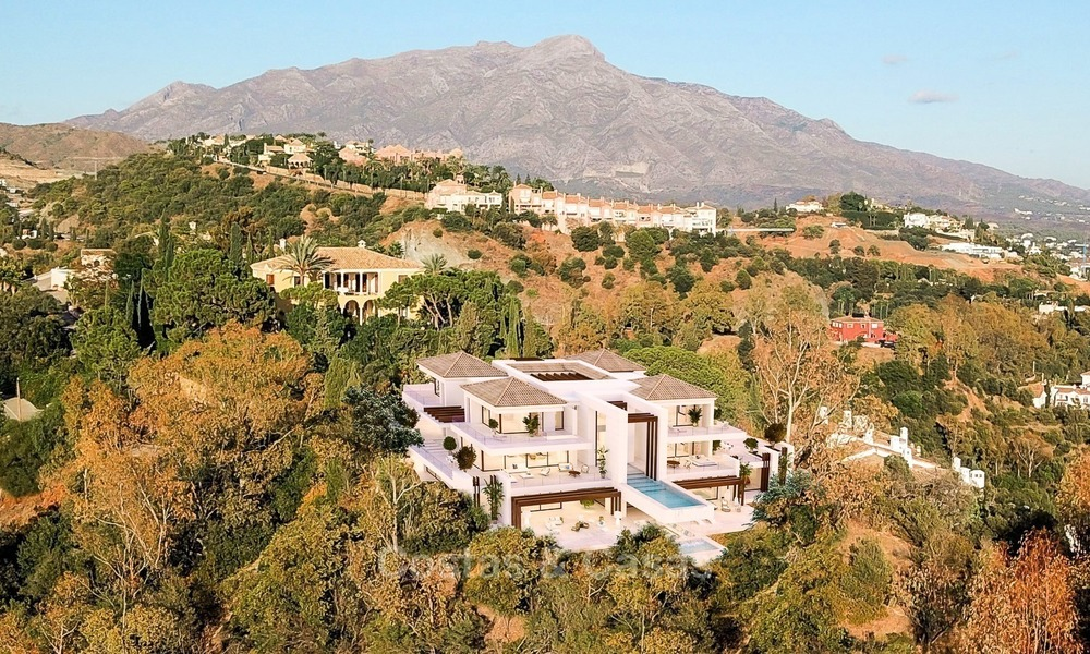 Spectacular Contemporary, Andalusian Style Villa for Sale, Golf- and Sea Views, Benahavis – Marbella 1413