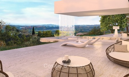 Spectacular Contemporary, Andalusian Style Villa for Sale, Golf- and Sea Views, Benahavis – Marbella 1414