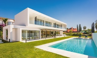 New, Ultra-Modern Villa with Golf views for sale in Nueva Andalucía, Marbella 1426