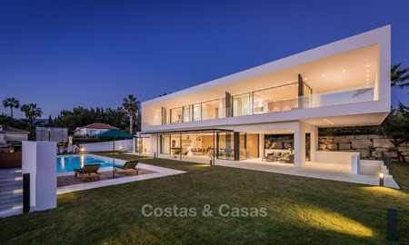 New, Ultra-Modern Villa with Golf views for sale in Nueva Andalucía, Marbella 1434