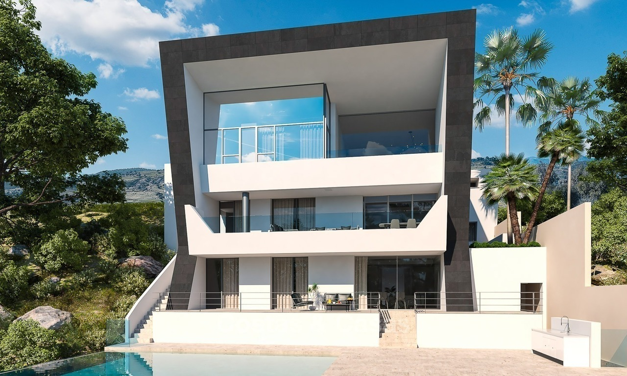 Opportunity! Ultra-Modern Villa for Sale with Mountain- and Golf views, Benahavis, Marbella 1452