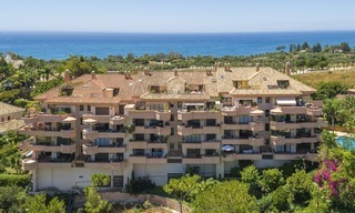 Luxury Penthouse apartment for sale in Gated Community with Panoramic sea and golf views in Rio Real, Marbella 1467