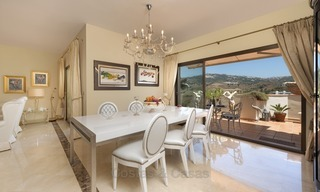 Luxury Penthouse apartment for sale in Gated Community with Panoramic sea and golf views in Rio Real, Marbella 1475