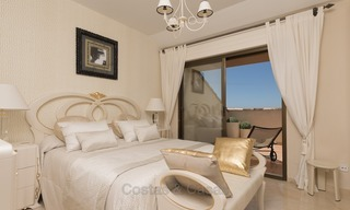 Luxury Penthouse apartment for sale in Gated Community with Panoramic sea and golf views in Rio Real, Marbella 1476